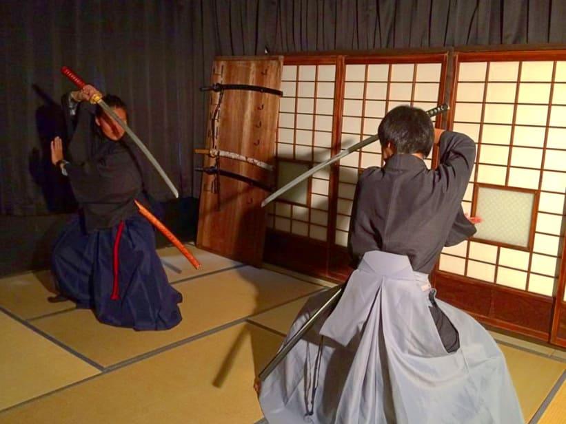 Expérience de Samouraï