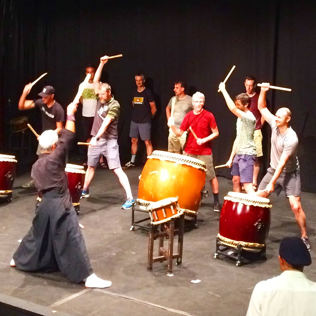 Taiko Drumming Workshop 5