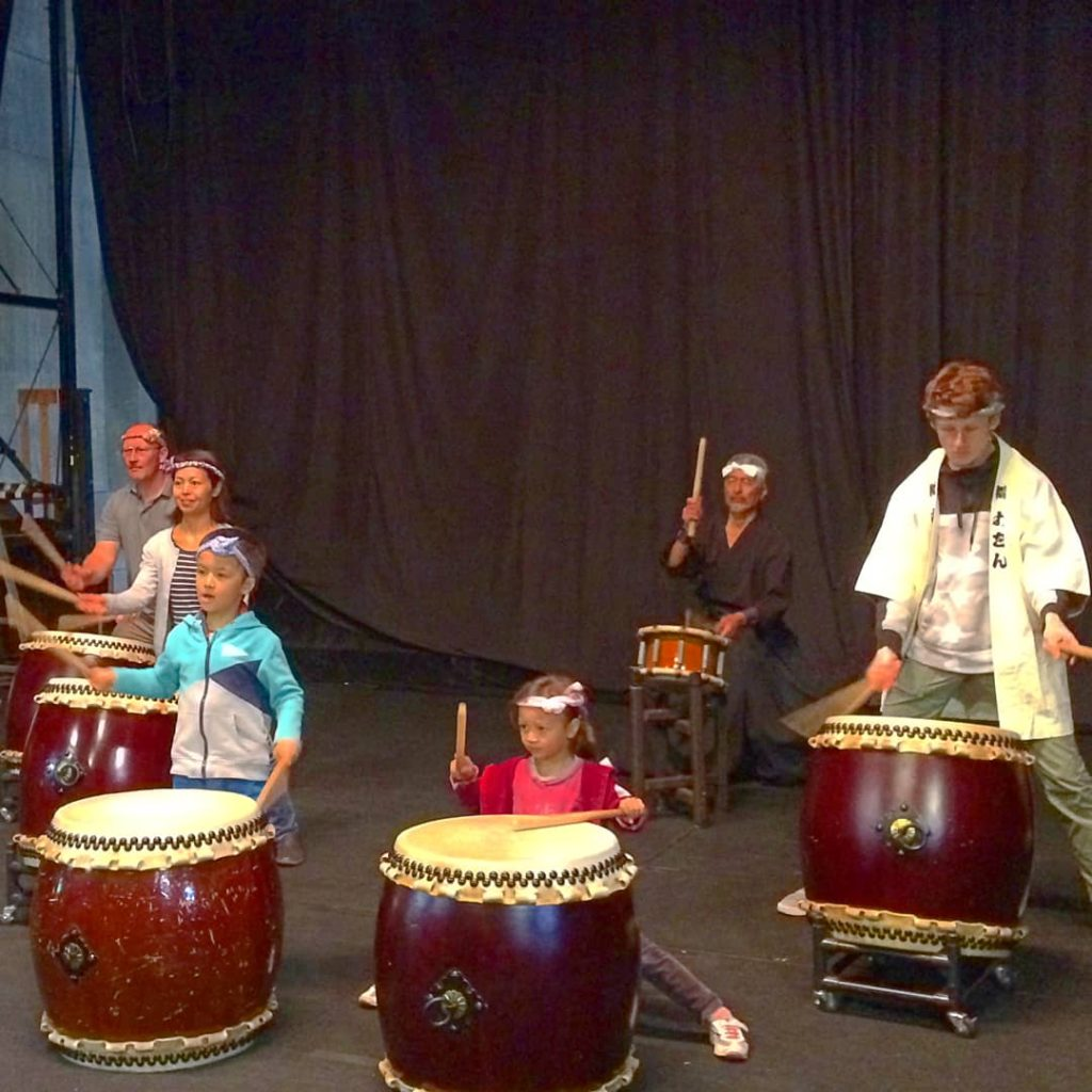 Taiko Drumming Workshop 11