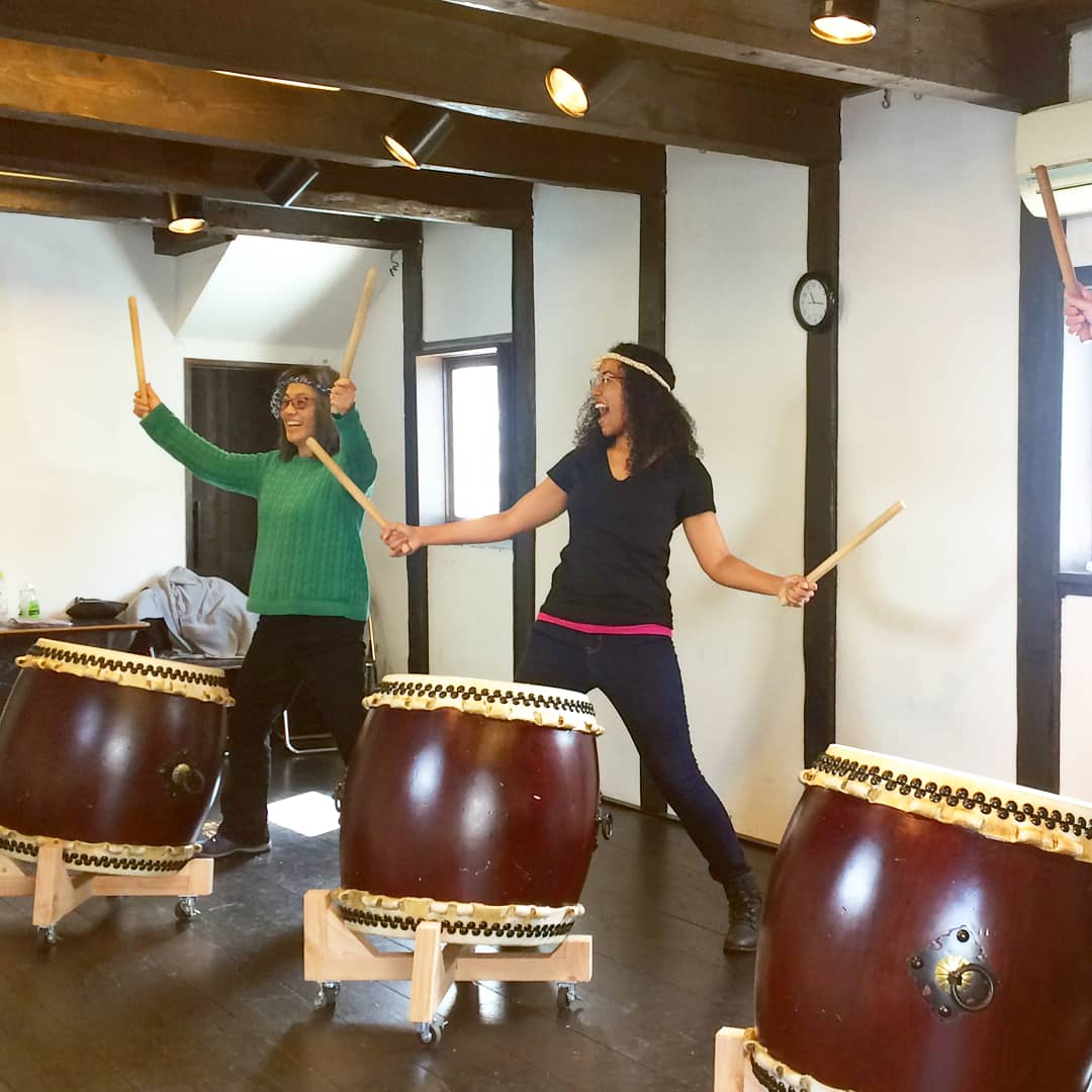 Taiko Drumming Workshop 4