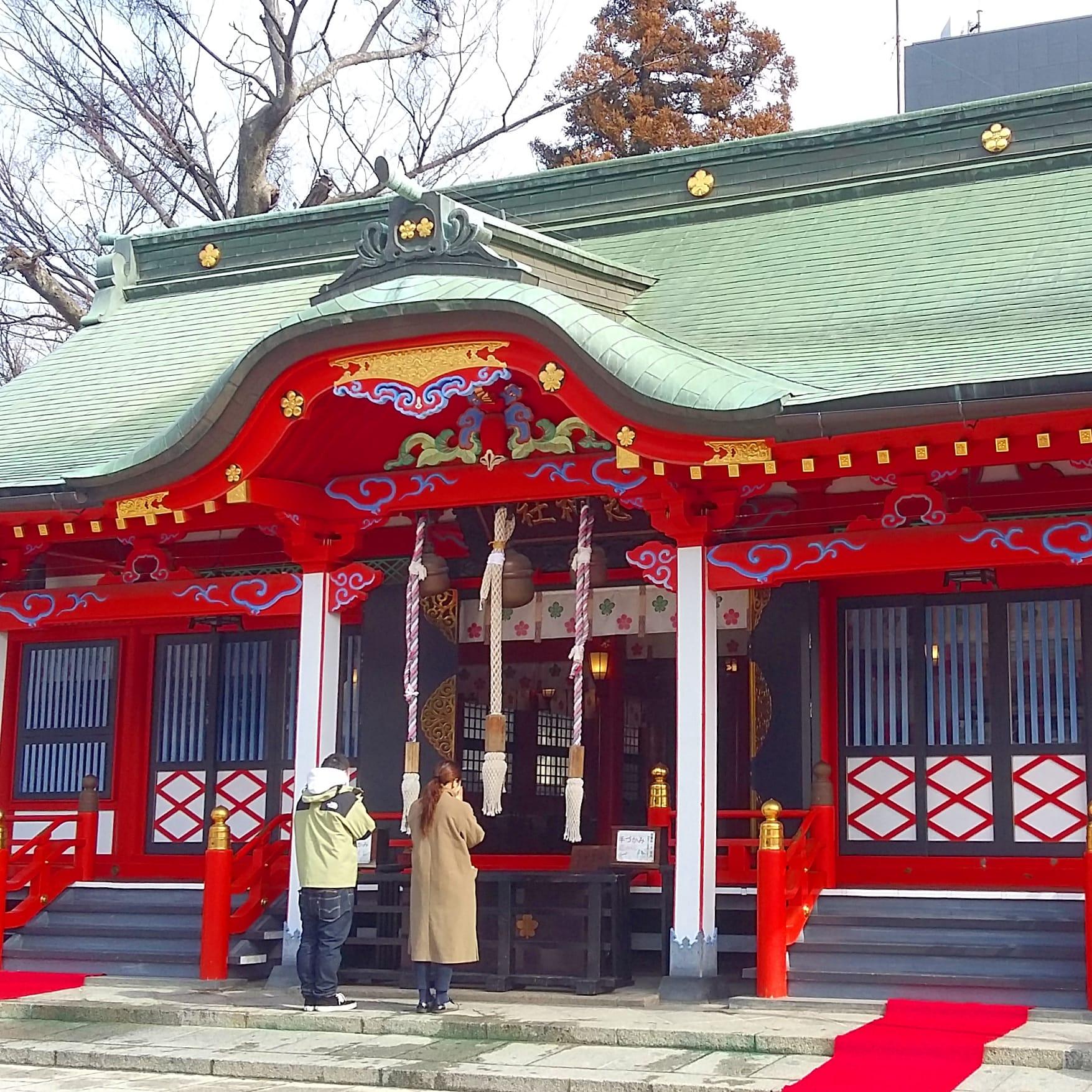 priez au Temple Fukashi