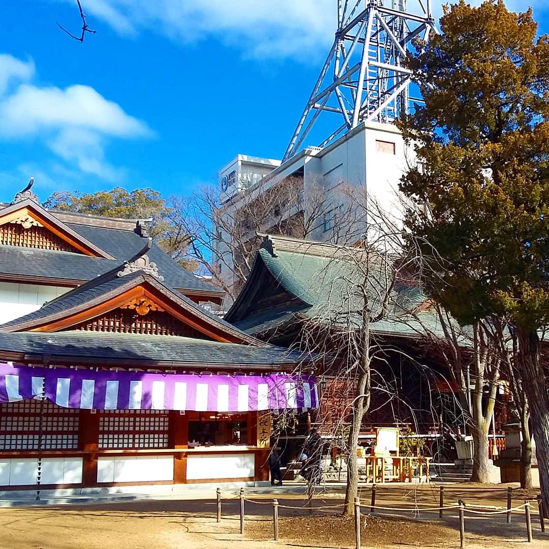 Temple Yohashira ensoleillé