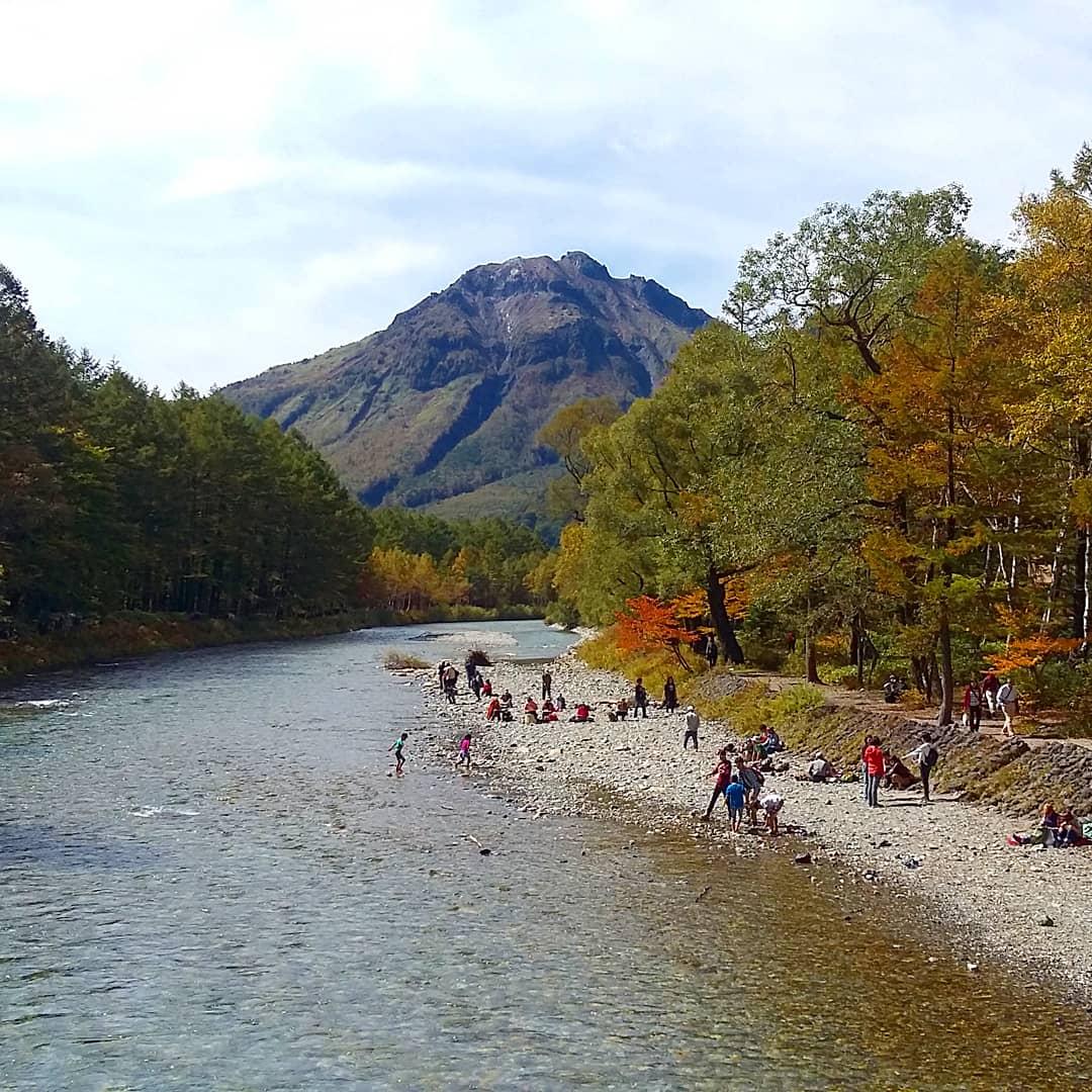 rivière Azusa Kamikochi