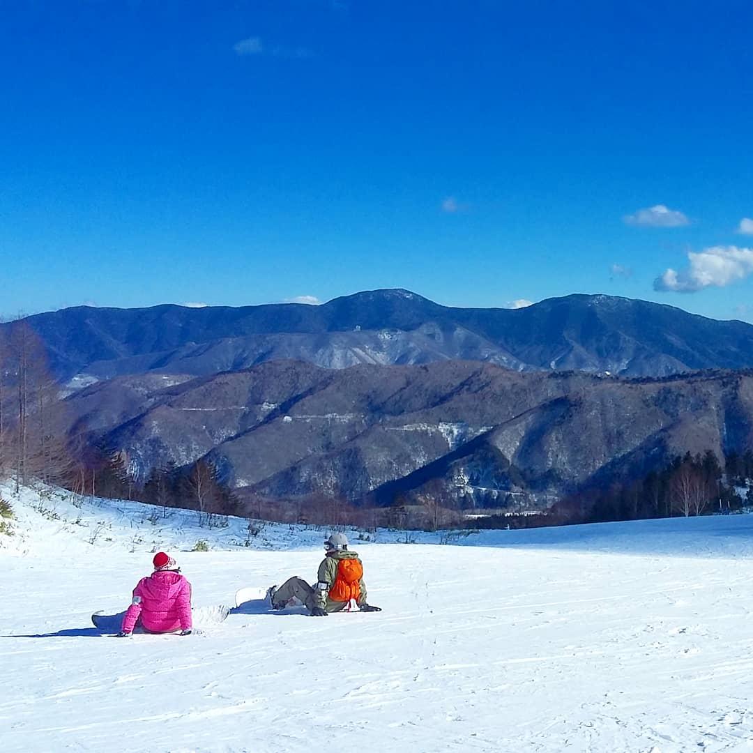 skier à Norikura