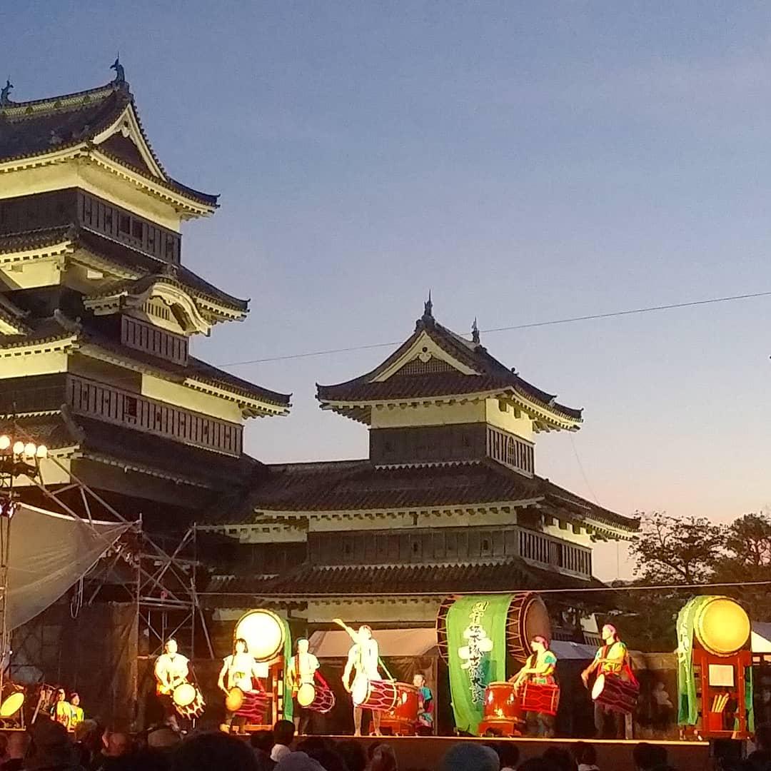 la puissance des Tambours Japonais Taiko