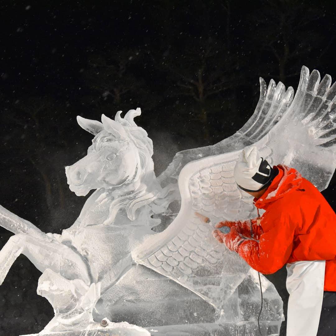 Festival de Sculpture sur Glace