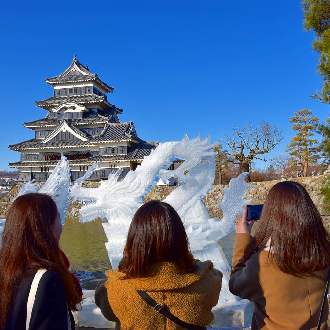 Festival de Sculpture sur Glace et château de matsumoto