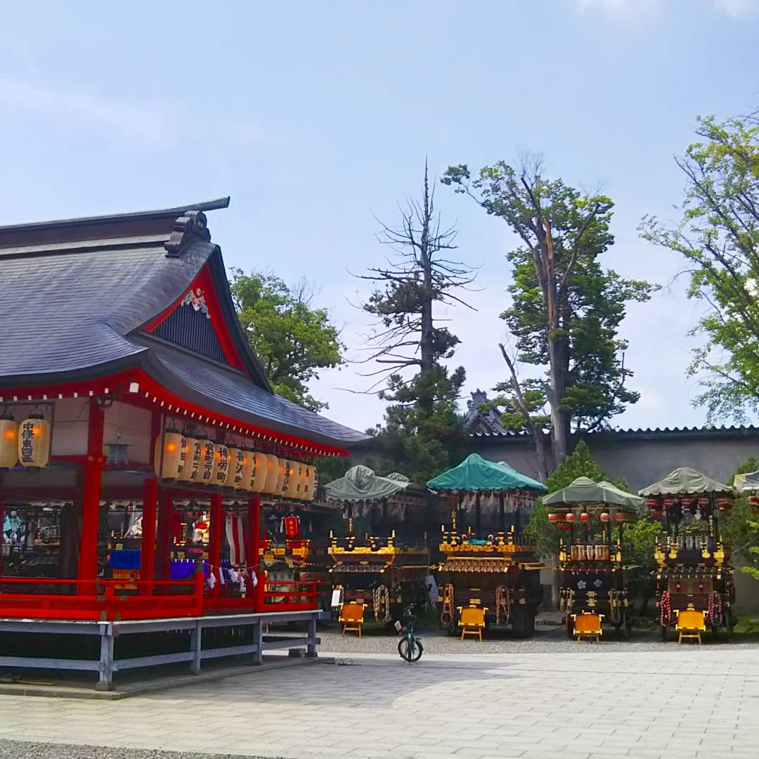 Festival Tenjin au temple