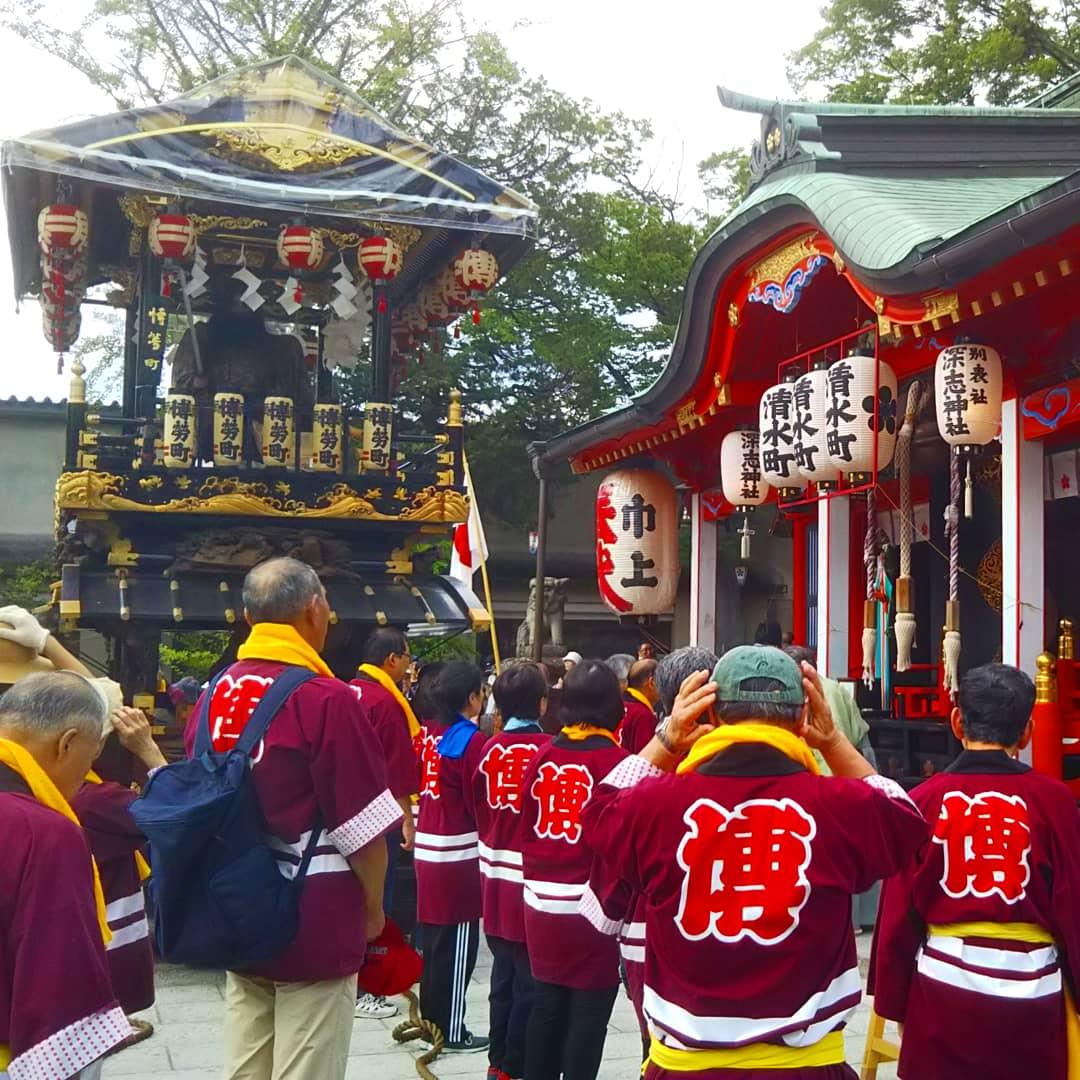 fin du Festival Tenjin