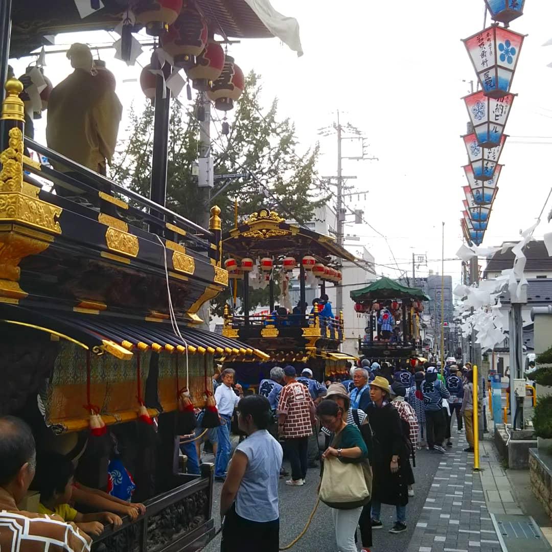Festival Tenjin dans les rues de matsumoto