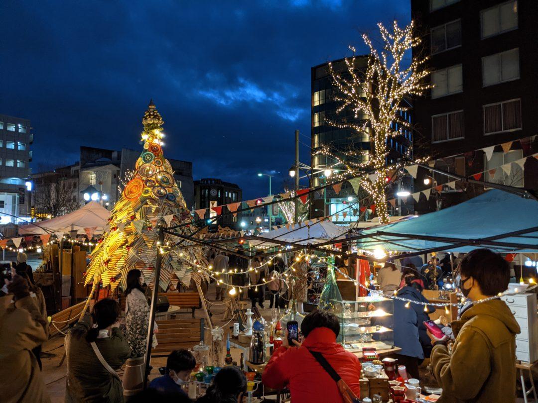 Christmas market Matsumoto Japan