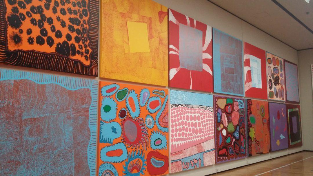 Matsumoto City Art Museum Kusama work