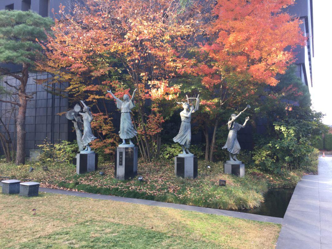 Matsumoto City Art Museum outside
