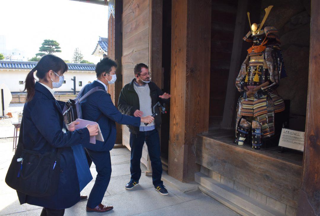 Vidéo sur Matsumoto samouraï