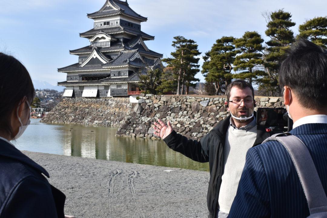 Vidéo sur Matsumoto château