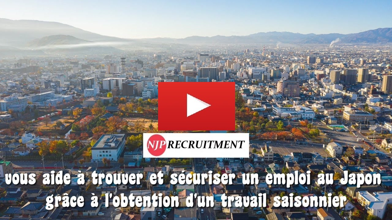 Matsumoto Vidéos recrutement job