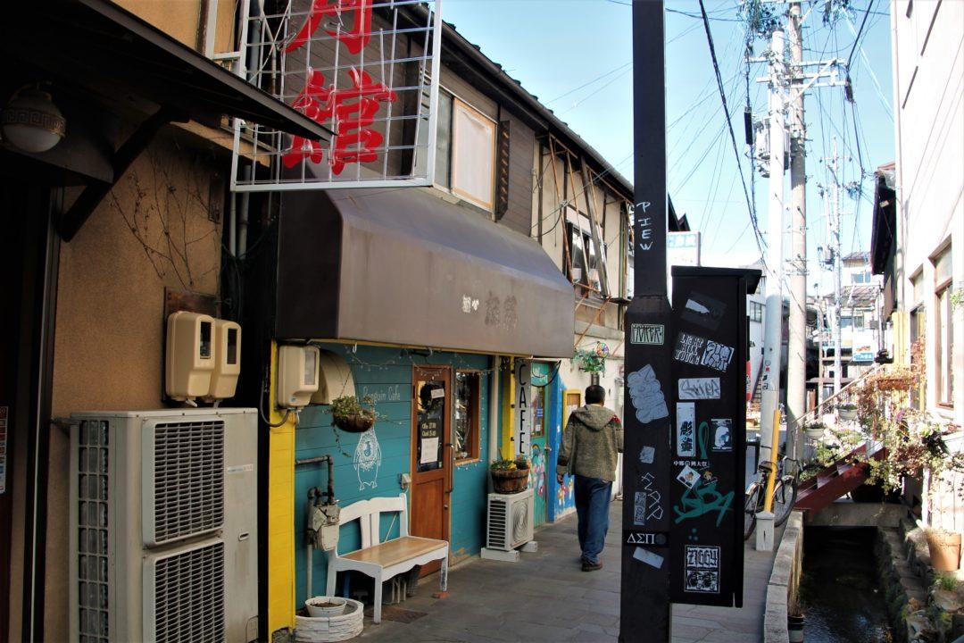 The Agetsuchi-machi Neighborhood visit