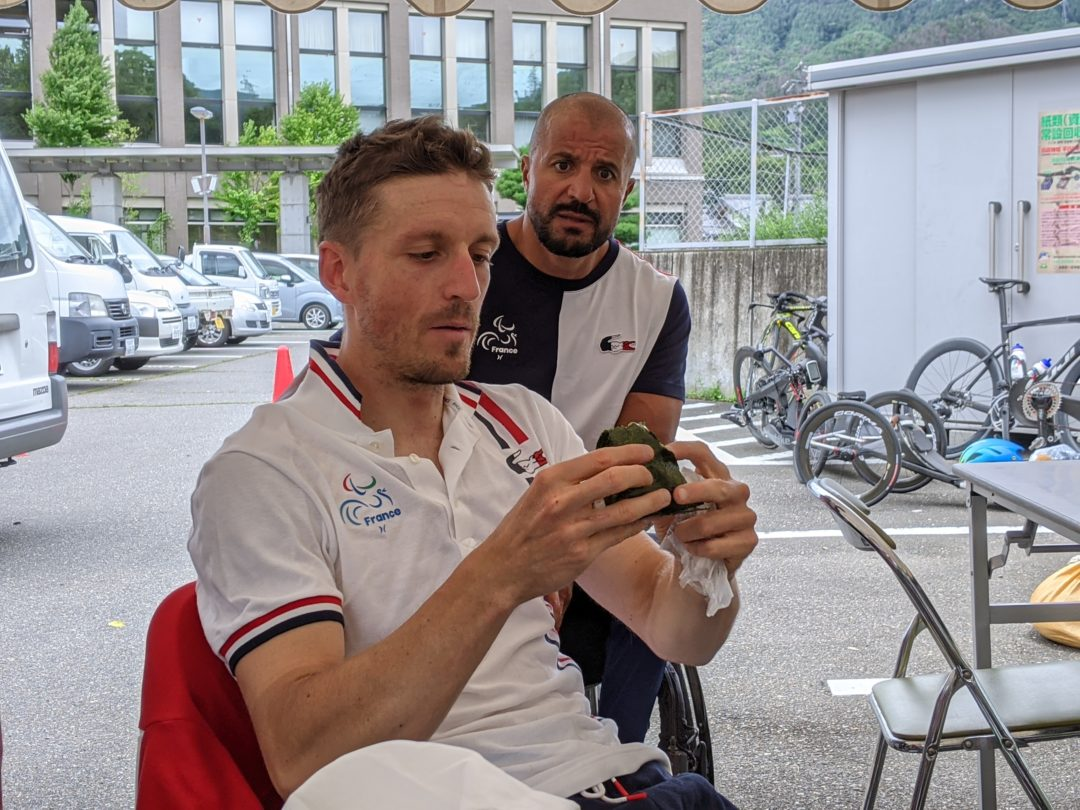 French Paralympic Cycling Team Le Cunff