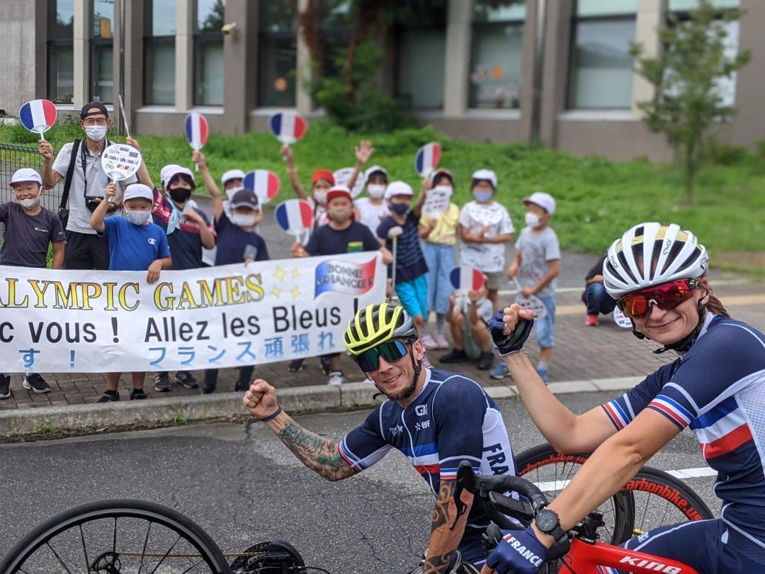 France Paralympique de Cyclisme victoire